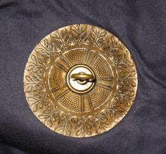 4 5 Sized Vintage Brass Bronze Ceiling Cap Canopy Chain Lamp Chandelier Part Ebay 57 9 Shipping Light Fixture Pinterest Kitchen Redo