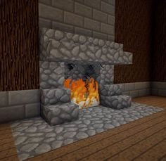 Minecraft Furniture - Fireplaces #ad