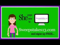 Sweepstakes 13 - A Place for Winners, Contests, Giveaways, Free Stuff, Freebies, Enter to Win -- Sweepstakes 13 --- http://sweepstakes13.com/