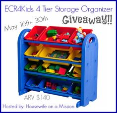 Toy Storage That Makes Cleaning Up Fun! ($150 Prize Pack #Giveaway | Toy  Storage