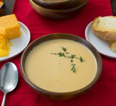 Cold Weather Recipe: Beer Cheese Soup