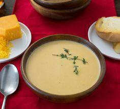 Tempo frio Receita: Sopa de queijo de Cerveja Receitas de A Kitchn | O Kitchn