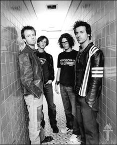 Our Lady Peace- the name of their band was inspired by the title of a poem by Mark VanDoren. They read it and each band member interpreted it differently, so they agreed that this has to be the name of their band.