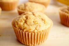 Orange Banana Muffins; these bright vegan muffins are packed with flavor. They are moist, soft, and sure to brighten the morning!
