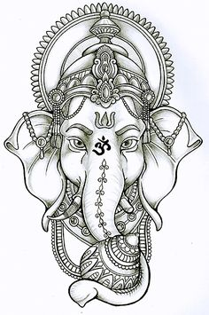Ganesha will give me success and destroy both material and spiritual obstacles . - Ganesha will give me success and destroy both material and spiritual obstacles. In the ante arm, de - Buddha Tattoos, Body Art Tattoos, Tattoo Drawings, Sleeve Tattoos, Hand Tattoos, Ganesh Tattoo, Hanuman Tattoo, Ganesha Drawing, Buddha Drawing