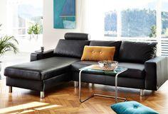 #Ekorness #Stressless #Sofa #Couch #Recliner #Black #Modern #Norwegian