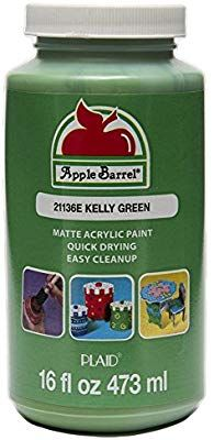 Paint Supplies, Craft Supplies, Cute Notebooks For School, Apple Barrel, Acrylic Paint Set, Buy Apple, Cool Paintings, Kelly Green, Craft Stores