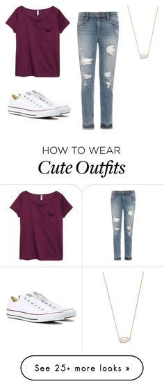 """Cute school outfits"" by lilythepinkprincess on Polyvore featuring H&M…"