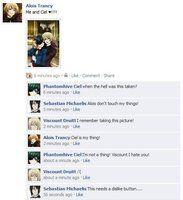 Kuroshitsuji Facebook: Picture by LeeAnn-Anime-Fan