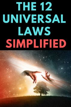 There are a total of 12 universal laws and using each can greatly benefit your life and explain to you how manifestation works. Manifestation Law Of Attraction, Law Of Attraction Affirmations, Secret Law Of Attraction, Spiritual Thoughts, Spiritual Growth, Spiritual Awakening, Spiritual Manifestation, Manifestation Journal, Spiritual Life