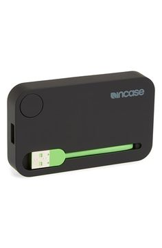 Free shipping and returns on Incase Designs Portable Phone Charger at Nordstrom.com. Keep your phone charged anywhere you go with this portable, battery-powered phone charger that's compact enough to fit in any bag or purse.