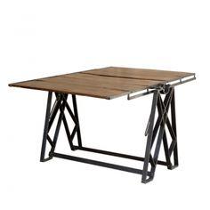 Urban vintage display tables