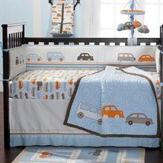 Simple or Swank: Modern Transportation Crib Bedding Sets