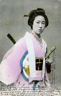 Onna bugeisha (female Japanese warrior) 19th century