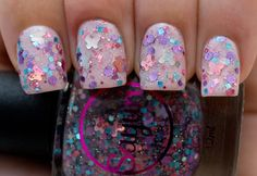Love, Sayuri by Sayuri Nail Lacquer - one coat over A England Iseult