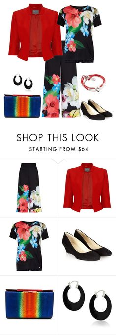 """""""Floral Day"""" by freida-adams ❤ liked on Polyvore featuring Ted Baker, Phase Eight, Hobbs, Bling Jewelry and Lizzy James"""