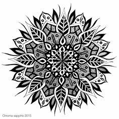 Geometric Tattoo Pattern, Geometric Mandala Tattoo, Mandala Flower Tattoos, Mandala Artwork, Mandala Dots, Flower Mandala, Mandala Pattern, Dotwork Tattoo Mandala, Tribal Armband Tattoo
