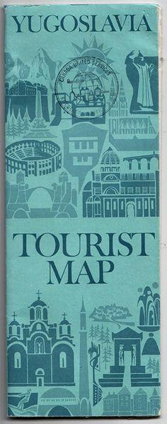 Yugoslavia Tourist Map published by the Yugoslav Centre for Promotion of Tourism. Map by Prfo. Zdravko Prelcec, Ivan Gradiser. Printed by Graficki Zavod Hrvatske, Zagreb 1973.