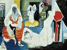 Pablo Picasso. Women d`Alger version