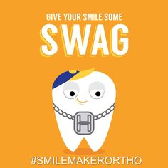 BRACKETS, BANDS, AND WIRES—not just straightening your teeth, but giving them some style! http://www.smilemaker.com