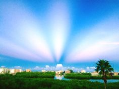 """Paul Dellegatto⚡️FOX en Twitter: """"Anti-crepuscular rays putting on a show over…"""