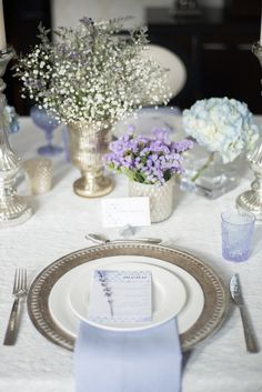 Intimate wedding shoot... Lavender theme