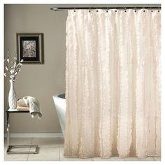 Modern Chic Shower Curtain - Ivory