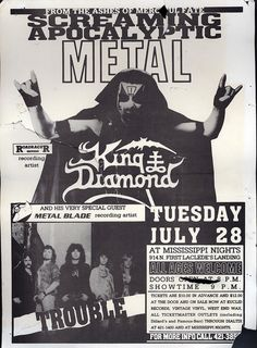 King Diamond at Mississippi Nights