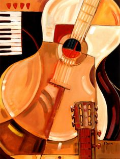 Abstract guitar Backgrounds