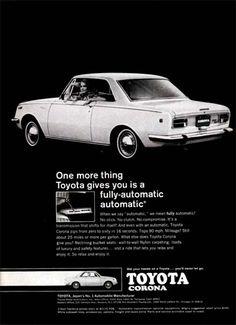 1968 Toyota Corona Ad