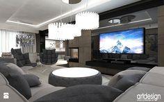 salon - nowoczesne wnętrza - zdjęcie od ARTDESIGN architektura wnętrz