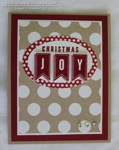 stampin up a banner christmas - Google Search