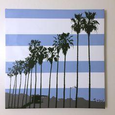 "Gallery: Pop series ""La Jolla Shores"" 24 x 24 inch, digital art & gel on canvas. -----------------------------http://JonSavageGallery.com ---------- #art #artist #popart #popartist #digitalart #digitalartist #contemporary #contemporaryart #beach #sandiego #lajolla #lajollashores #california #surf #surfer #surfing #blue #palmtrees #arecaceae #jonsavagegallery"