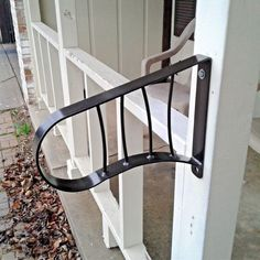 New Grab Support WROUGHT IRON HAND RAILING WALL MOUNT RAILS Stairs 1-2 Steps #custommade