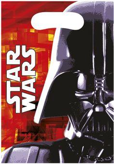 6 sacchetti per feste Dart Fener Star Wars™