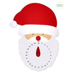 Vorfreude auf das Weihnachtsfest! Mit diesem Adventskalender weißt Du es genau! Die Vorfreude steigt umso mehr, wenn du den Zeiger des selbstgebastelten Kalenders täglich weiterstellen darf, bis die 24 endlich erreicht ist.  Die Einzelteile, sowie die Zahlen sind bereits auf Karton vorgedruckt. Du benötigst nur noch eine Schere zum Ausschneiden der Teile, Klebstoff und Stifte zum Einzeichnen des Gesichtes. Hello Kitty, Christmas, Fictional Characters, Cutting Practice, Adhesive, Pointers, Scissors, Pens, Numbers