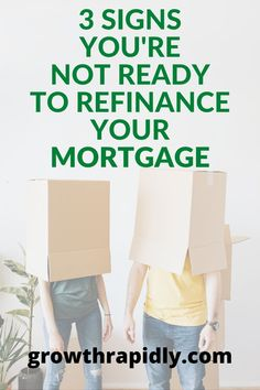 Refinancing your mortgage may be a wise idea if you get a low interest rate or lose your private mortgage insurance. But there are disadvantages too. #mortgage #refinance #refinancing #mortgagetips #growthrapidly Check Your Credit Score, Good Credit Score, Improve Your Credit Score, Mortgage Quotes, Mortgage Tips, Current Mortgage Rates, Buying First Home, Money Saving Tips, Money Tips