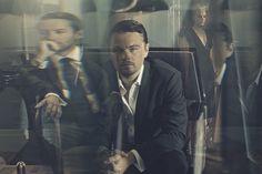 Leonardo DiCaprio, Tobey Maguire, Carey Mulligan by Kurt Iswarienko