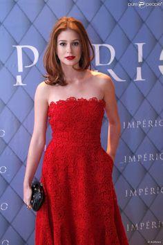 Marina Ruy Barbosa usou um vestido da grife Valentino na festa de lançamento de 'Império', a próxima novela das nove da TV Globo, em 19 de julho de 2014