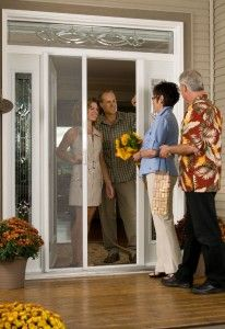 Beau Mirage Screens Can Customize Retractable Entryway Door Screens To Not Only  Fit Your Single Or Double Entryway Door, But Also Blend With Your Homeu0027s  Decor.