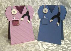 Doctor's Bag & Matching Scrub Shirt Card! | Stamp-n-Design Store