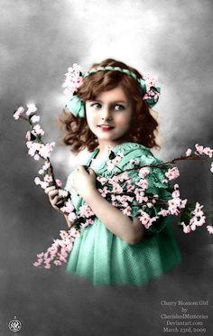 Cherry Blossom Girl by *CherishedMemories on deviantART