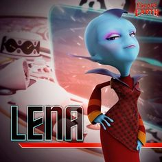 """Lena Thackleman """"Escape from Planet Earth"""""""