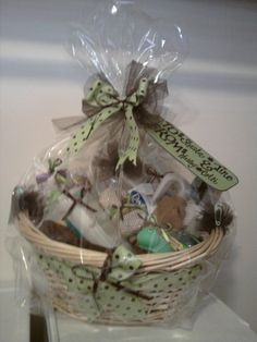 baby shower gift baskets by Hailey Roberts