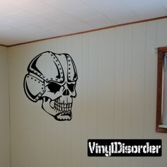 Skull Wall Decal - Vinyl Decal - Car Decal - SM076