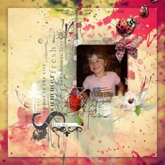 A picture of my daughter.  Kit used:  NBK Designs' Ladybird Fly Away Home available at Available at Artisian Scrap:  http://artisanscrap.com/shop/nbkdesign-c-96/ E-Scape & Scrap:  https://www.e-scapeandscrap.net/boutique/index.php?main_page=index&cPath=113_227 Memory Scraps:  http://www.mscraps.com/shop/nbkdesign/?treemenu=y