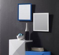 conjunto recibidor con originales espejos y un mueble con estantera hogar pinterest