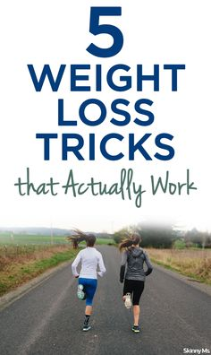 These 5 Weight Loss Tricks that Actually Work will help you lead a healthier lifestyle and maintain a healthy, stable weight.