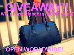 MyStyleSpot: The Most Bang for Your Buck, When it Comes To the Perfect Handbag + A GIVEAWAY! OPEN WORLDWIDE! Ends Dec. 17, 2014  WIN THIS BAG! a $200 Value!  #contest #win #sweepstakes #giveaway #forett #handbags #bag #purse #accessories #fashion #style #mystylespot #blog #blogger #review #women #apparel #clothing #shopping #shop