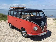 Checkout this VW camper van. Isn't it just stunning?  www.bookaclassic.com #bookaclassic #classiccar #carlovers #lovecars #luxurycars #supercars #weddingcar #vintagecar #oldtimer #youngtimer #prewarcar #vintageweddingcar #happywedding #weddinginspiration #weddingphotography #style #drive #auto #vw #vwcamper #volkswagen